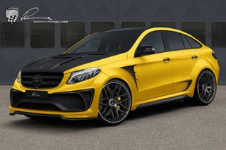 lumma mercedes gle coupe
