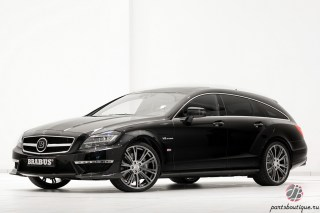Аэродинамический обвес Brabus Mercedes-Benz CLS X218 63 AMG Shooting Brake