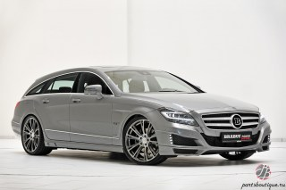 Аэродинамический обвес Brabus Mercedes-Benz CLS X218 Shooting Brake без спорт-пакета AMG