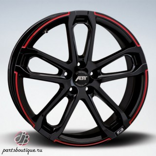 Диски ABT Sportsline CR Black Red